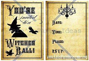 Witches Ball Halloween Party via Kara's Party Ideas Ideas -www.KarasPartyIdeas.com-shop-24