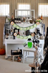 Witches Ball Halloween Party via Kara's Party Ideas Ideas -www.KarasPartyIdeas.com-shop-29
