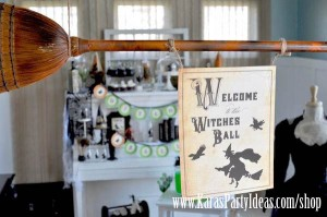 Witches Ball Halloween Party via Kara's Party Ideas Ideas -www.KarasPartyIdeas.com-shop-33