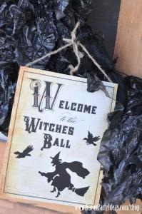 Witches Ball Halloween Party via Kara's Party Ideas Ideas -www.KarasPartyIdeas.com-shop-36