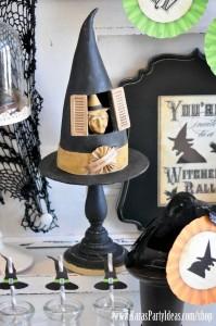 Witches Ball Halloween Party via Kara's Party Ideas Ideas -www.KarasPartyIdeas.com-shop-40