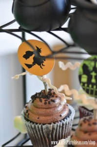 Witches Ball Halloween Party via Kara's Party Ideas Ideas -www.KarasPartyIdeas.com-shop-42