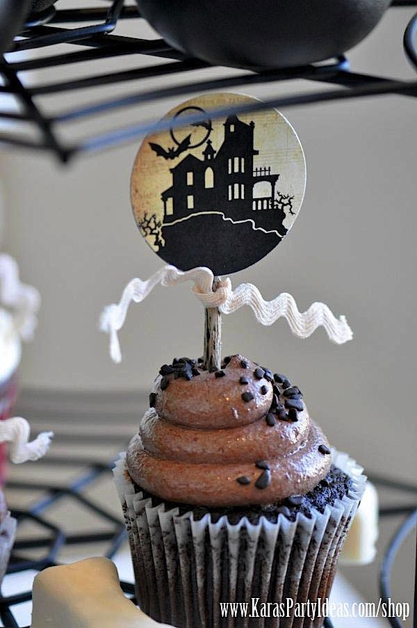 Witches Ball Halloween Party via Kara's Party Ideas Ideas -www.KarasPartyIdeas.com-shop-44