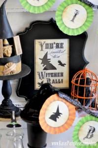 Witches Ball Halloween Party via Kara's Party Ideas Ideas -www.KarasPartyIdeas.com-shop-5