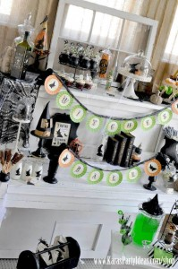 Witches Ball Halloween Party via Kara's Party Ideas Ideas -www.KarasPartyIdeas.com-shop-53
