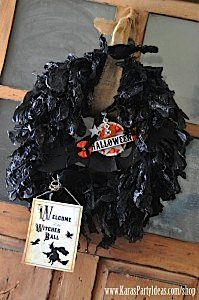 Witches Ball Halloween Party via Kara's Party Ideas Ideas -www.KarasPartyIdeas.com-shop-55