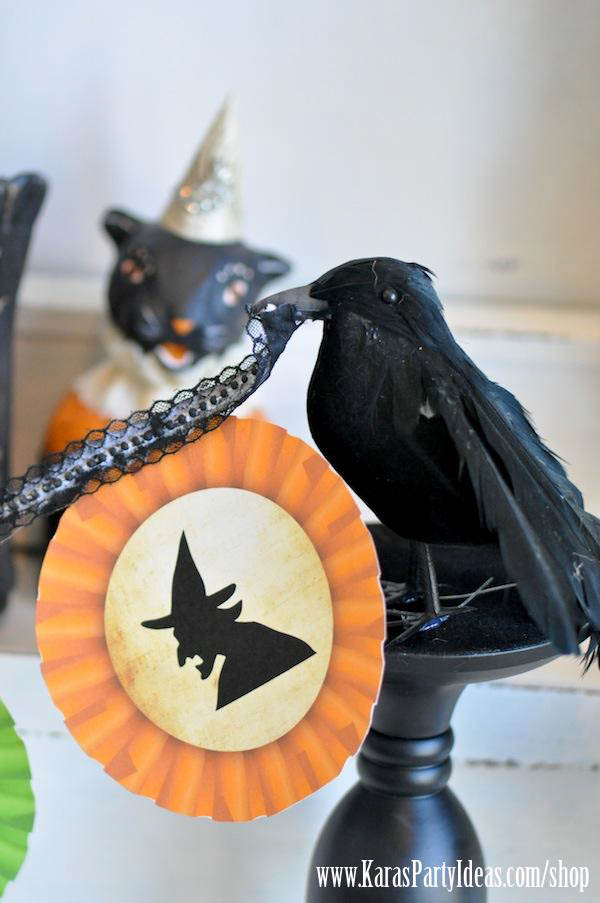 Witches Ball Halloween Party via Kara's Party Ideas Ideas -www.KarasPartyIdeas.com-shop-57
