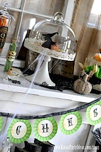 Witches Ball Halloween Party via Kara's Party Ideas Ideas -www.KarasPartyIdeas.com-shop-63