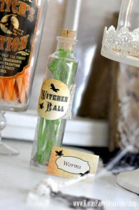 Witches Ball Halloween Party via Kara's Party Ideas Ideas -www.KarasPartyIdeas.com-shop-67