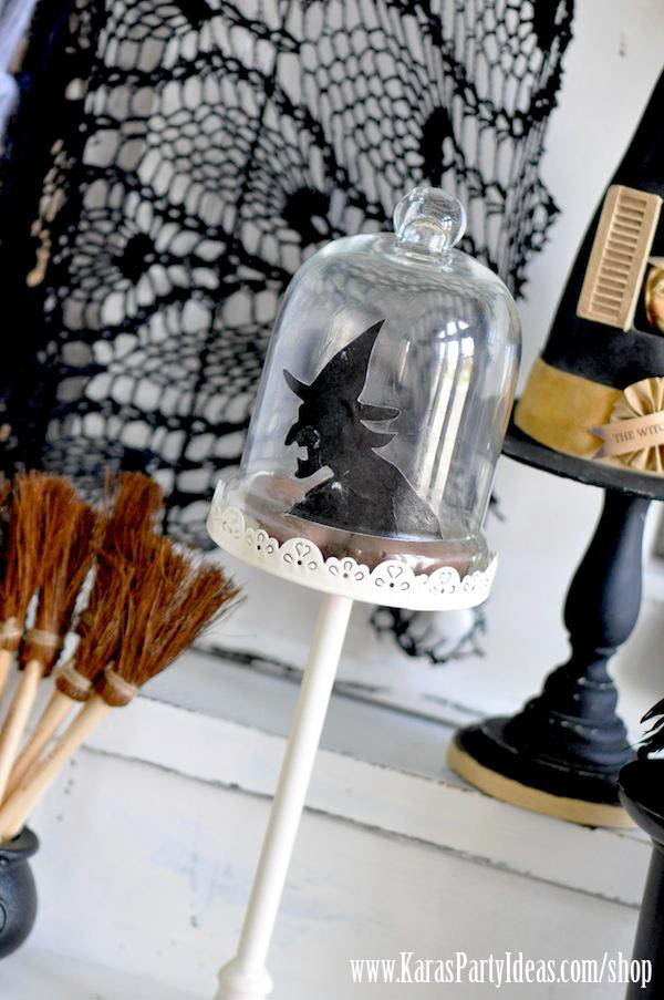 Witches Ball Halloween Party via Kara's Party Ideas Ideas -www.KarasPartyIdeas.com-shop-72
