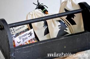 Witches Ball Halloween Party via Kara's Party Ideas Ideas -www.KarasPartyIdeas.com-shop-74