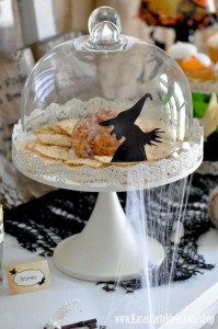 Witches Ball Halloween Party via Kara's Party Ideas Ideas -www.KarasPartyIdeas.com-shop-77