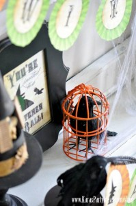 Witches Ball Halloween Party via Kara's Party Ideas Ideas -www.KarasPartyIdeas.com-shop-78