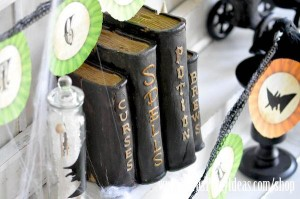 Witches Ball Halloween Party via Kara's Party Ideas Ideas -www.KarasPartyIdeas.com-shop-79