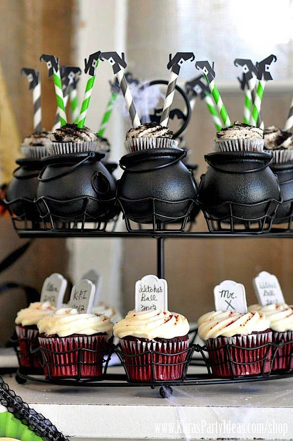 Witches Ball Halloween Party via Kara's Party Ideas Ideas -www.KarasPartyIdeas.com-shop-8