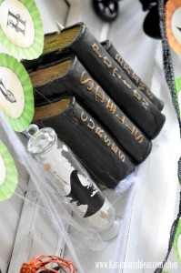 Witches Ball Halloween Party via Kara's Party Ideas Ideas -www.KarasPartyIdeas.com-shop-80
