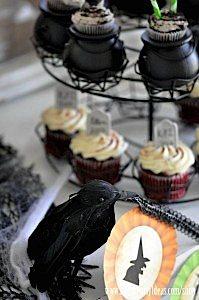 Witches Ball Halloween Party via Kara's Party Ideas Ideas -www.KarasPartyIdeas.com-shop-81