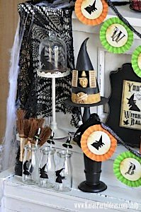 Witches Ball Halloween Party via Kara's Party Ideas Ideas -www.KarasPartyIdeas.com-shop-86