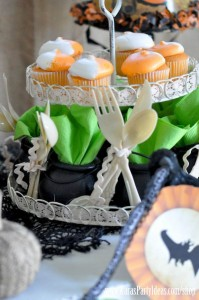 Witches Ball Halloween Party via Kara's Party Ideas Ideas -www.KarasPartyIdeas.com-shop-90