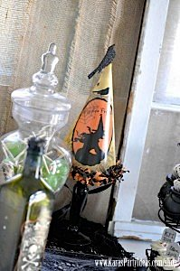 Witches Ball Halloween Party via Kara's Party Ideas Ideas -www.KarasPartyIdeas.com-shop-95