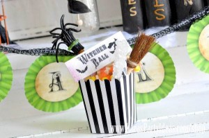 Witches Ball Halloween Party via Kara's Party Ideas Ideas -www.KarasPartyIdeas.com-shop-97