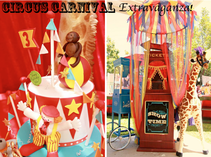 Kara 39 s party ideas circus carnival extravaganza birthday party kara 39 s party ideas - Carnival theme party for adults ...