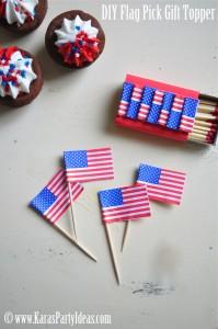 diy-4th-july-sparkler-favor-pinwheel-flag-pick-tutorial-www.karaspartyideas.com