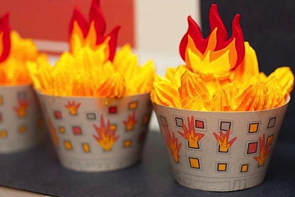 Kara S Party Ideas Firetruck Fireman Fire Station