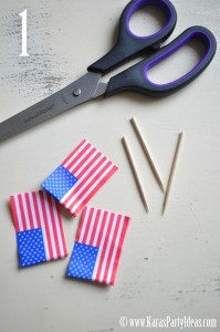 flag-pick-ribbon-banner-4th-of-july-step-one-www.karaspartyideas.com