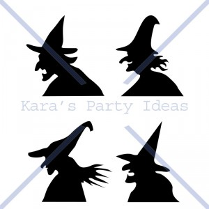 halloweenwitchsilhouettes