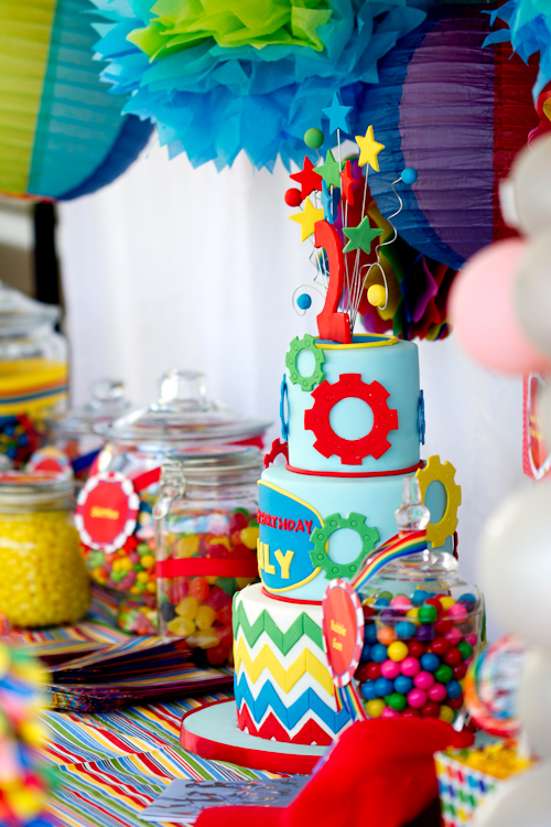 Karas Party Ideas Disneys Imagination Movers Birthday Party Theme