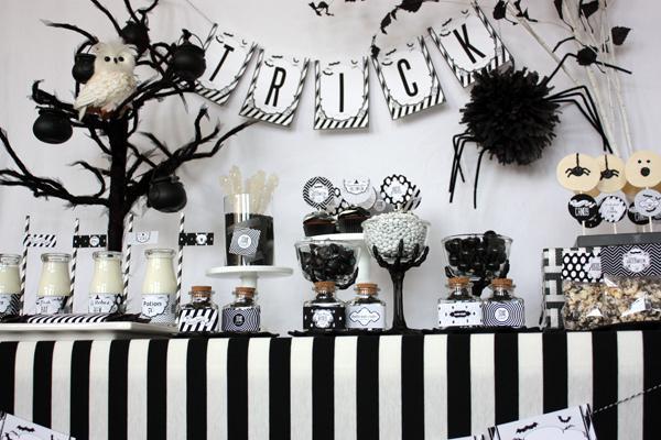 image10 black and white old movie halloween printable