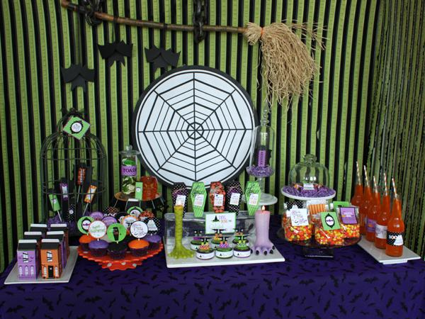 Kara 39 S Party Ideas Image2 Halloween Glam Haunted House