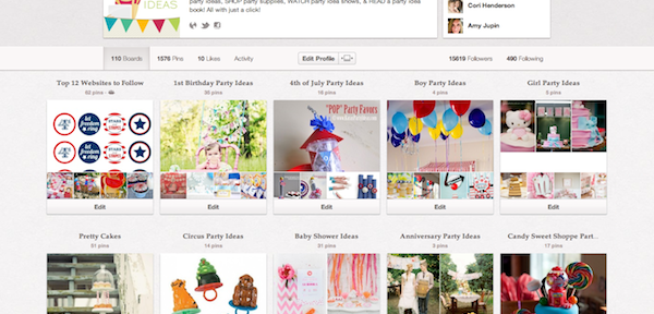 kara's party ideas pinterest page