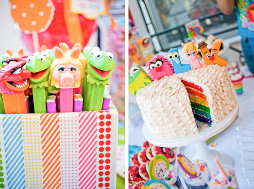 Muppet Themed Inspired Birthday Party Via Karas Party Ide