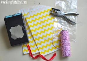 paper bag party 4th of july idea www.karaspartyideas.com tutorial products needed
