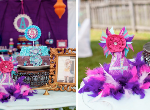 princess jasmine 4th birthday party via www.karaspartyideas.com