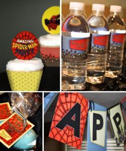 spiderman decor_600x719