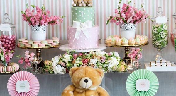 Teddy Bear Forever Friends Birthday Party